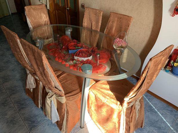 Комплект обеденный. Стол+стулья