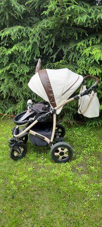 Jak nowy. Wózek 2 w 1 Camarelo carmela spacerówka i gondola amortyzato