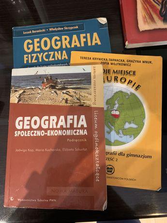 Podręczniki geografia historia angielski rosyjski