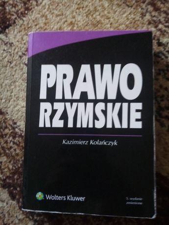 Prawo rzymskie Kazimierz Kolańczyk