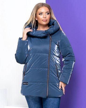 Є РОЗМІРИ Жіноча куртка Пуховик трендовый зимняя зимова женская