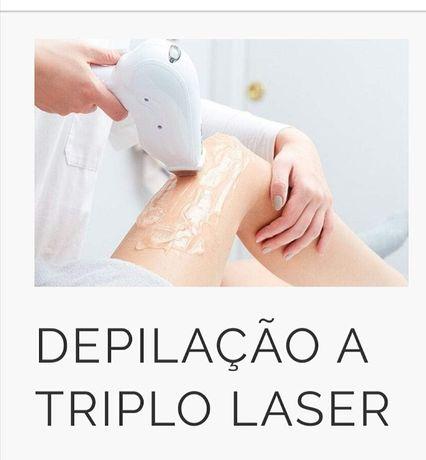 Aluguer de maquina laser tripla onda