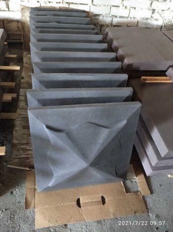 Крышки на столб 450*450 мм. графит