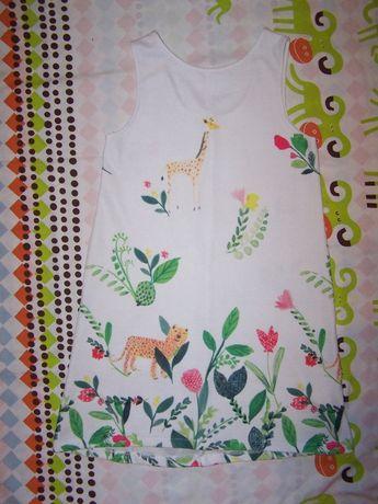 Sukienka dżungla 152cm Zara śliczna