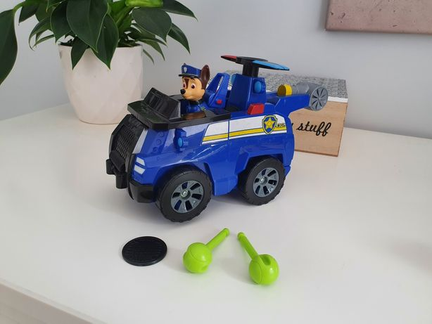 Psi Patrol Flip & fly pojazd 2w1 samolot Chase Czejs