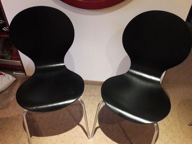 Krzesła Drewniane Czarne