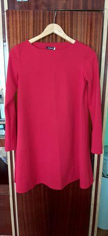 Жіноче плаття вільного крою,червоне плаття,розмір S