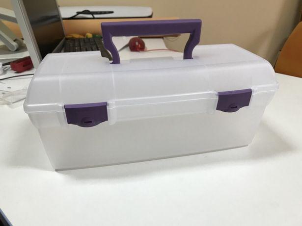 Коробка для хранения (инструментов для рукоделия)