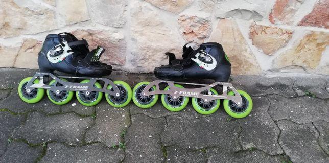 Vendo patins em linha profissionais.