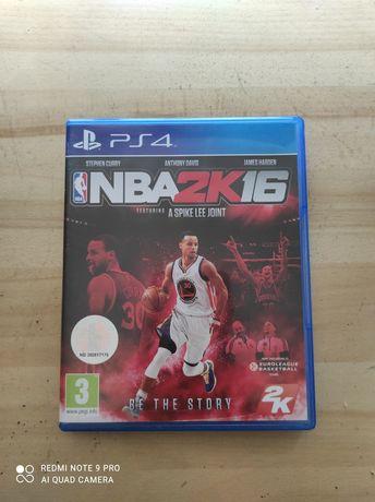 NBA 2K16 PS4 stan bardzo dobry