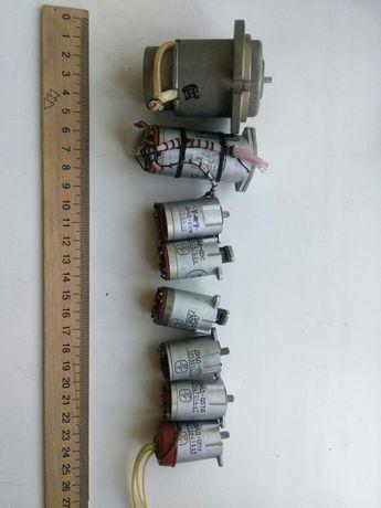 Микродвигатели,сельсины ДГ,ДИД-0.5,БС-7а и др.