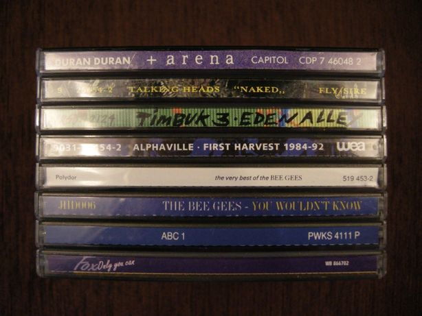 CD Duran Talking Heads Timbuk 3, Alphaville Bee Gees ABC Fox фирменный