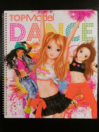 """Top Model- Dance"" kreatywna książka"