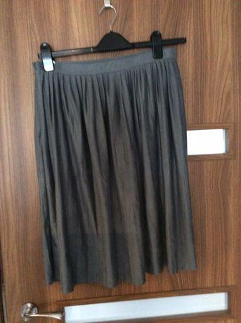 Szara spódniczka plisowana roz L/XL