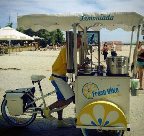 Rower do sprzedaży lemoniady - Fresh Bike