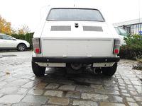 Fiat 126p zderzaki z laminatu czarne nowe do rajdowe komplet przód tył