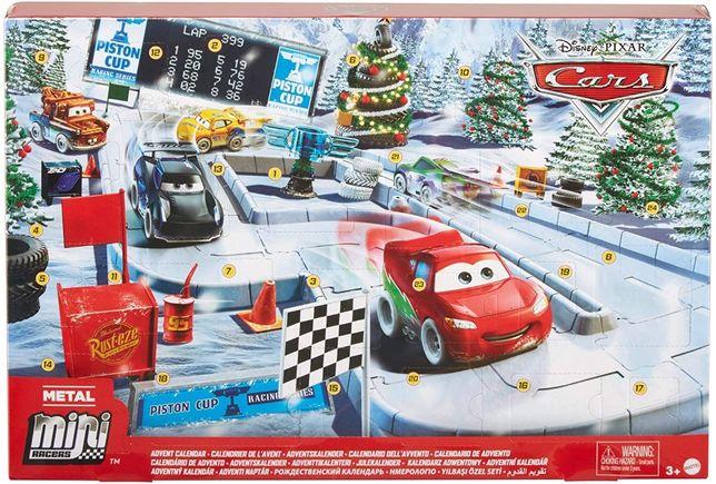 Адвент календарь Тачки Disney Cars Advent Calendar Молния Макквин Мэтр