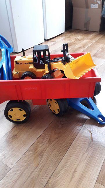 Przyczepka Wader Gigant Track wózek + koparka