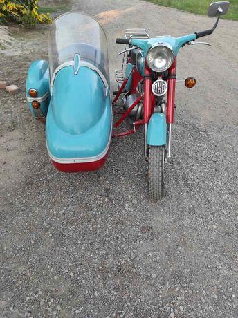 Продам мотоцикл Ява 360 старушка с коляской