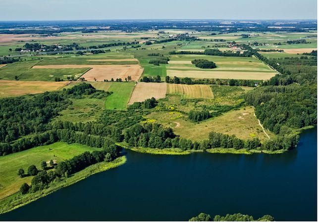 Sprzedam działkę 8,1 ha (lub 25,7 ha) z linią brzegową jeziora