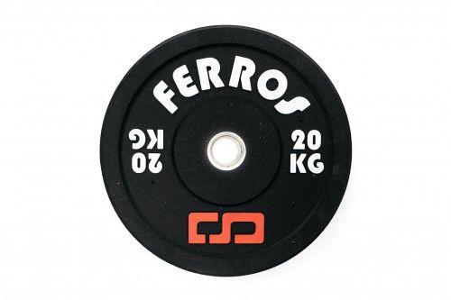 Obciążenie olimpijskie bumper gumowe 20 kg. Produkt polski!!!