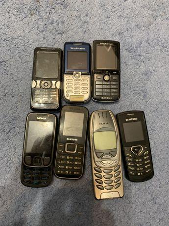 Telefony stare Nokia 6310i Sony Ericsson K750i K300i K550i