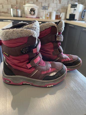Детские зимние сапоги на девочку wolfskin 28 размер