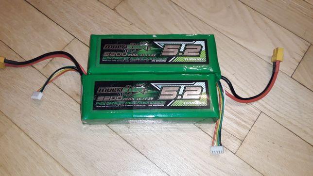 2 sztuki baterii li-pol Turnigy Multistar 4S 5200mAh 14,8V 10C