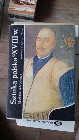 Sztuka polska XVIII w. Mariusz Karpowicz
