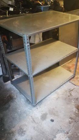 Regał metalowy 4 półki