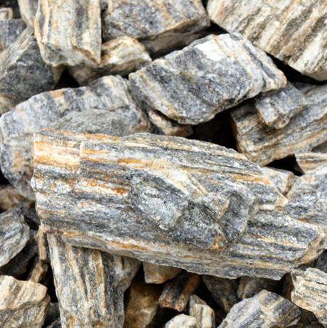 Kora kamienna GRUBA 32-63mm łupek gnejs - kamień ogrodowy
