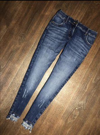 Стильные рваные джинсы скини на девочку f&f