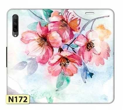 NOWE ETUI Portfel + SZKŁO HARTOWANE 9H Telefon Huawei P Smart Pro