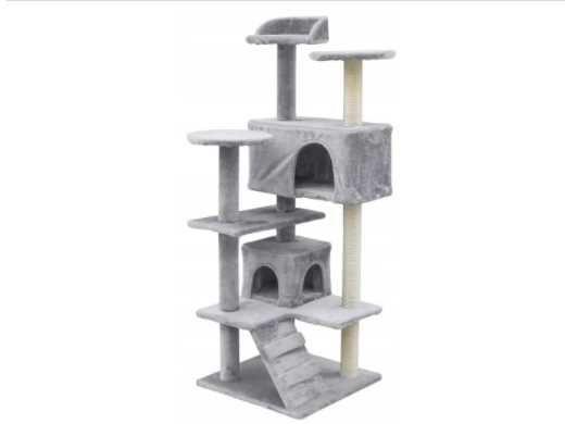 DRAPAK LEGOWISKO DLA KOTA Kotów Domek Plac Zabaw Duży Mięciutki