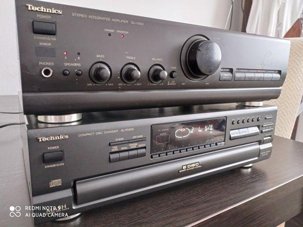 Technics SU-V500 i SL-PD888