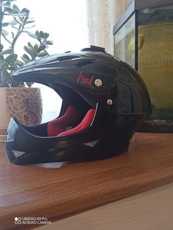 Фулфейс, вело шлем, fullface кроссовий шлем,