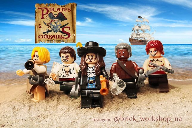 "Минифигурки Пираты (лего аналог, lego) ""Pirates & Corsairs"""