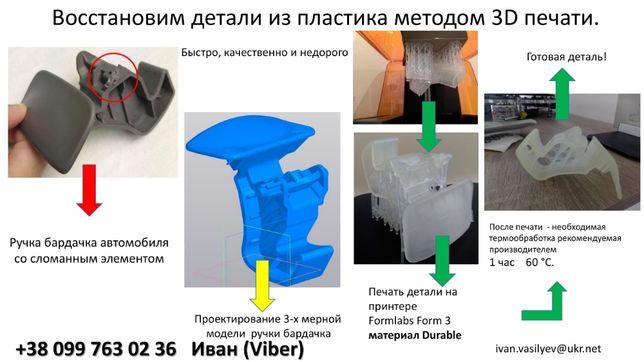 3Д печать деталей