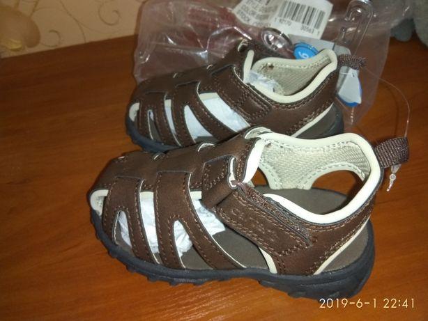 Босоножки, сандали, летняя обувь, Картерс 13см.стелька на мальчика