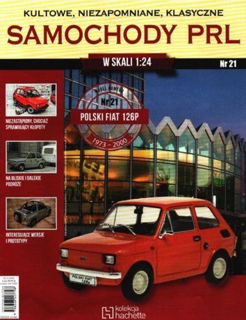 Fiat 126p skala 1:24, Samochody PRL, kolekcja Hachette