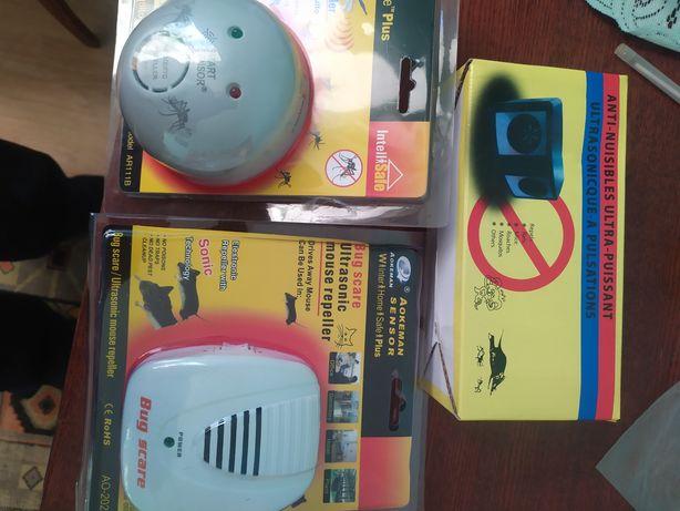 Відлякувач мишей  та комарів ультразвуковий.