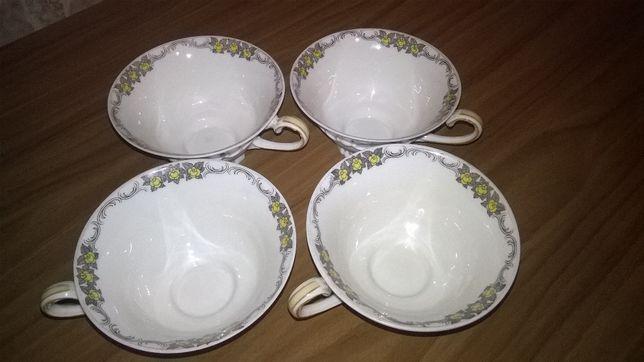 Porcelana-filiżanki SORAU sygnowane