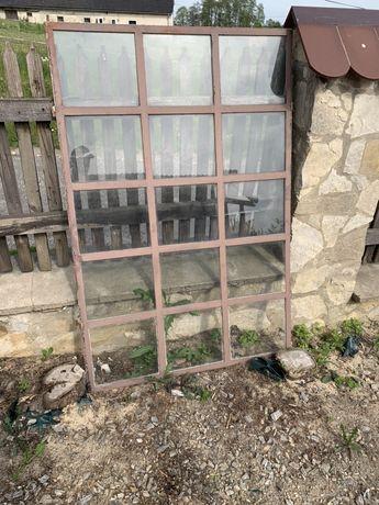 Okno stalowe