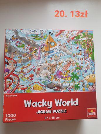 Puzzle 1000 2 opakowania