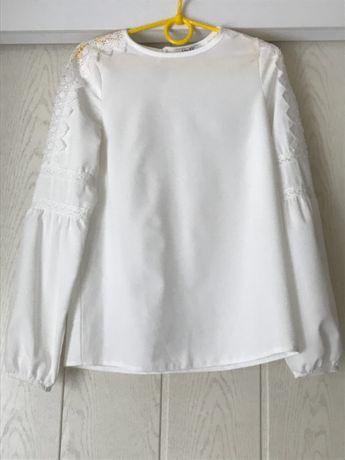 Блуза для школьницы 134р