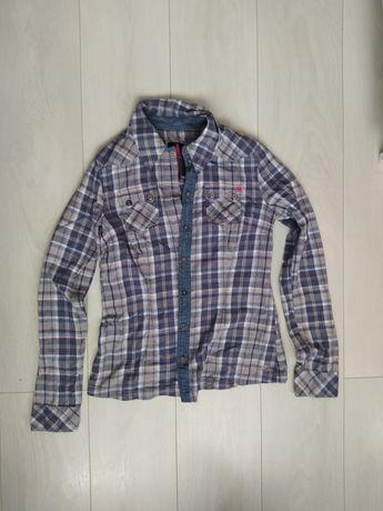 Damska koszula w kratę - Tom Tailor (rozmiar M)