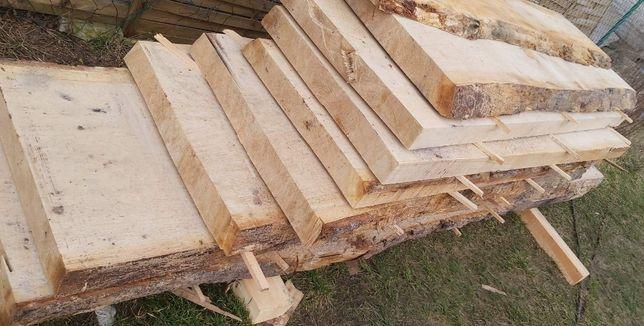 Blat dębowy stół stolik ,drzewo lite drewno gr.8,5 cm dąb tarcica