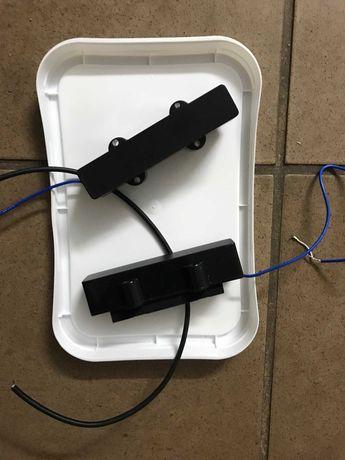 Przystawki pickup przetwornik Jazz Bass potencjometry elektronika JJ