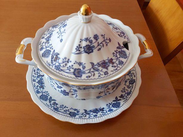 Terrina Limoges azul