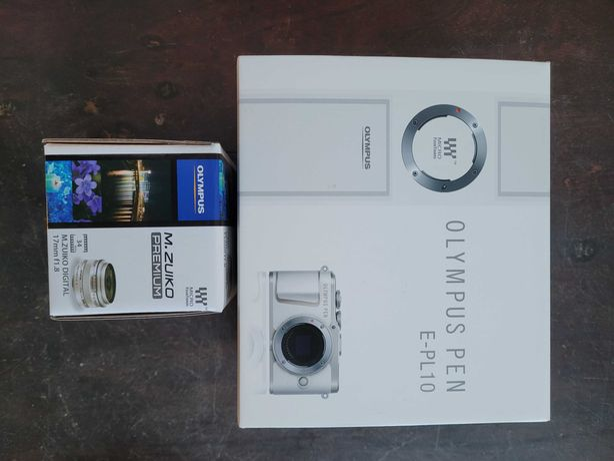 Nowy Olympus PEN E-PL10 + obiektyw Olympus M.Zuiko Digital 17mm f/1.8
